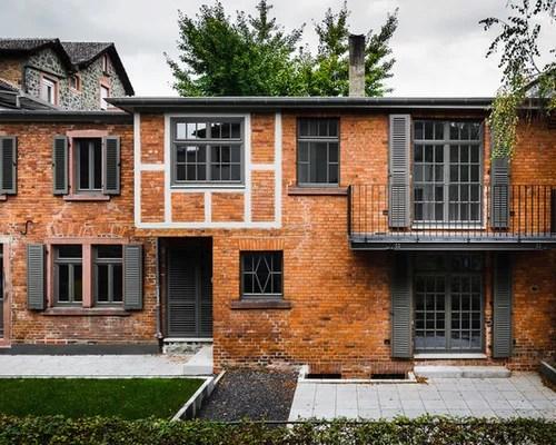 Rustikale Häuser Und Fassaden Ideen Für Die Haus