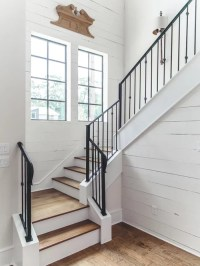 Best 70 Farmhouse Staircase Ideas & Decoration Pictures ...