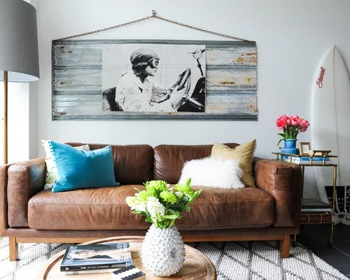 repair kit for leather sofa extra large slipcover stretch houzz   brown couch design ideas & remodel pictures