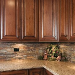 Hope Kitchen Cabinets Amish Island Silestone Sienna Ridge | Houzz