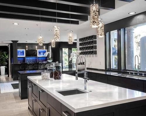 ikea kitchen counters small corner hutch white quartz countertops | houzz