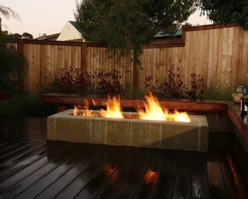 Rectangular Fire Pit Ideas Pictures Remodel And Decor