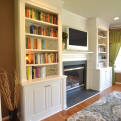 Small Living Room Tv Fireplace Best Affordable Rugs Recessed Design Ideas & Remodel Pictures ...