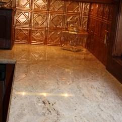 Metal Cabinets Kitchen Small Ceiling Ideas Copper Tile Backsplash | Houzz