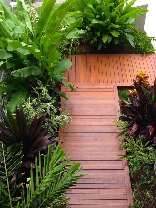 tropical front yard landscape ideas