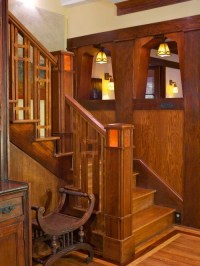 Wood Stair Railing Home Design Ideas, Pictures, Remodel ...