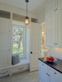 Kitchen Cabinet Around Window | Houzz