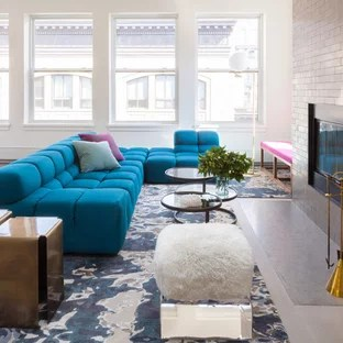 grey white turquoise living room best warm colours for 75 most popular contemporary design ideas 2019 example of a mid sized trendy open concept dark wood floor in
