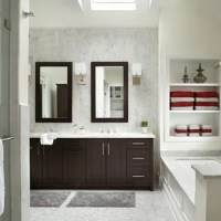 Dark Cabinets Light Floors Bathroom Ideas   Houzz