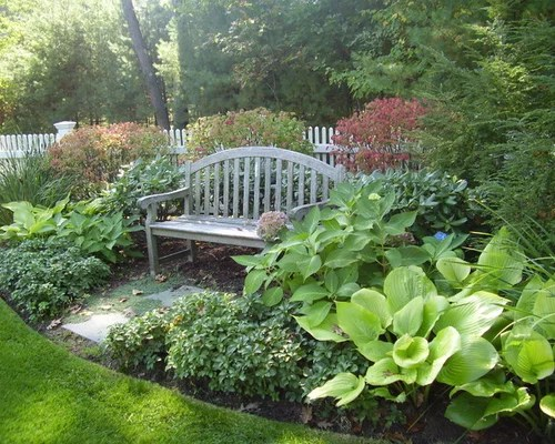 front yard seating area