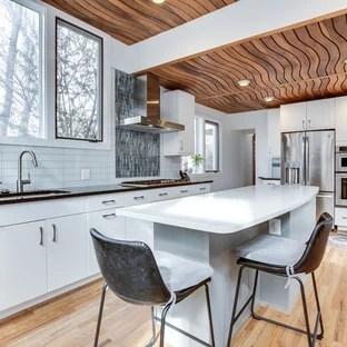 75 Most Popular Kitchen With Glass Tile Backsplash Design Ideas For