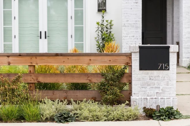 Transitional Exterior by Garden Studio