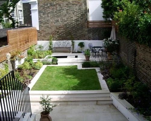 north facing garden home design