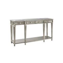 Sofa Table Size Budget Sofas And Placement Of Mirror Over Console It Will Be On The Wall Opposite My Bed Is 60 Long 18 Deep I Want To Hang A Rectangular What Best