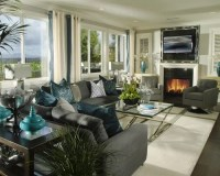 Grey And Turquoise Home Design Ideas, Pictures, Remodel ...