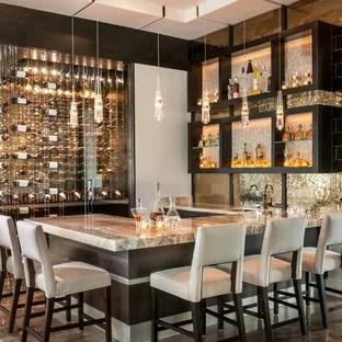 75 Most Popular Contemporary Home Bar Design Ideas for