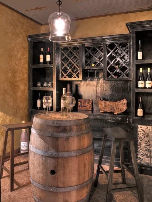 Whiskey Barrel Bar Home Design Ideas Pictures Remodel