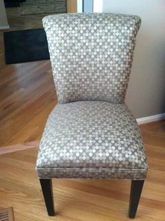 arhaus capri dining chairs leather of bath ibsen carrington court or we recently ordered a cc chair sent them fabric this is will use occasionally with desk they did nice job it s comfortable enough for