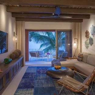 tropical living room ideas interior design photo gallery india 75 most popular small for 2019 open concept idea in seattle with beige walls