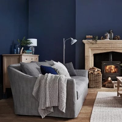 gray and blue living room ideas colors for with dark brown furniture how to combine in your