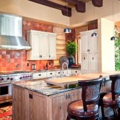 Southwest Kitchen Bosch Mixer Houzz Eat In Southwestern Idea Phoenix With Raised