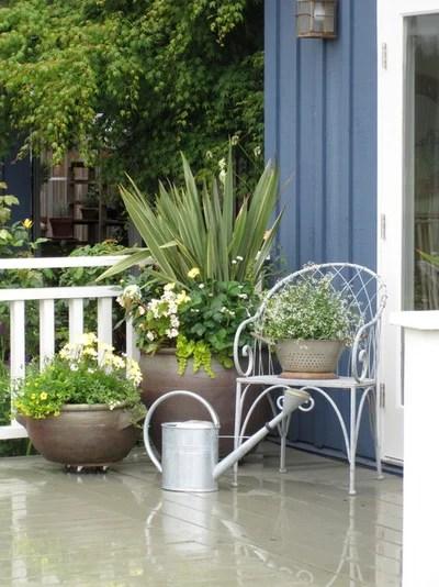 Traditional Patio by Glenna Partridge Garden Design