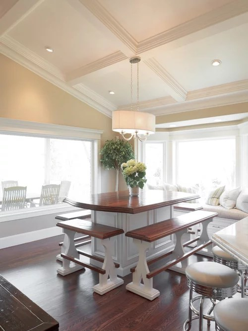 Vaulted Coffered Ceiling  Houzz
