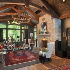 Rustic Living Rooms Decorating Rectangular Room 75 Most Popular Design Ideas For 2019 Stylish Remodeling Pictures Houzz