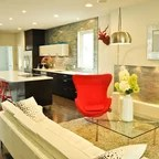 Residential  Modern  Living Room  Calgary  by Tracy
