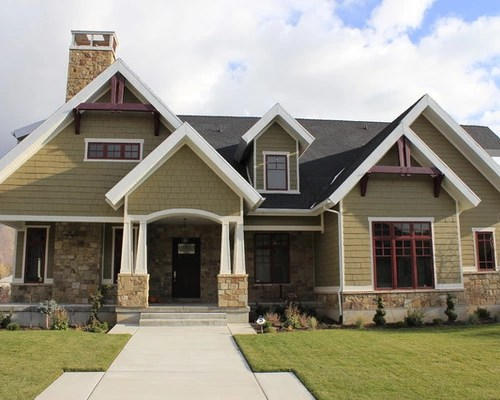 Stone Front Homes stone front house ideas