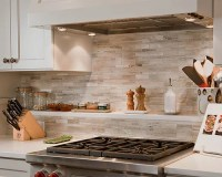 Limestone Backsplash | Houzz