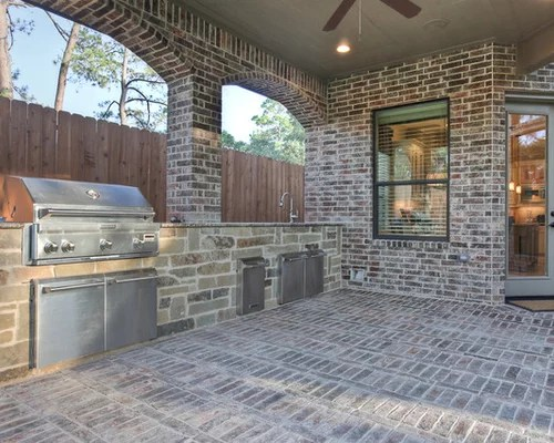 Outdoor Kitchens Patios Home Design Ideas Pictures