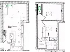 agencement appartement chambres enfilade