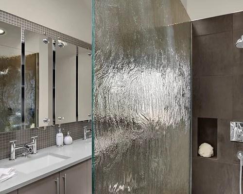Waterfall Glass Shower Home Design Ideas Renovations  Photos