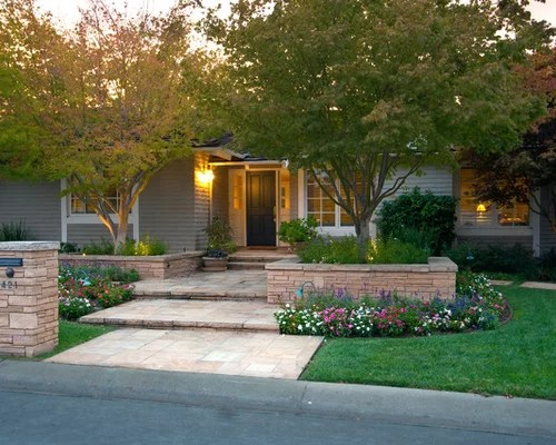Ranch Home Landscape Design Houzz