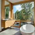 ADM White Solid Surface Stone Resin Bathtub Modern Bathtubs By ADM Bathroom Design