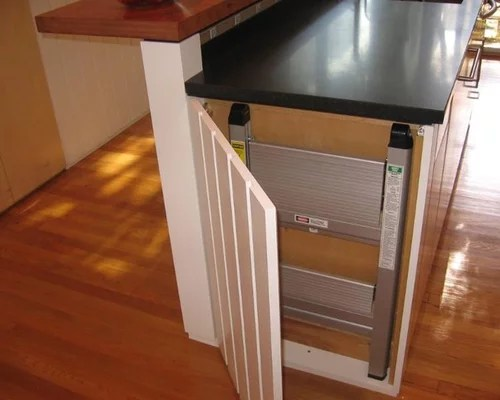 Hidden Step Stool Ideas Pictures Remodel and Decor