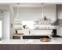 Shelving Instead Of Upper Cabinets | Houzz