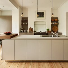 Flat Front Kitchen Cabinets Makeover Contest Greige | Houzz