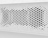 Perforated brick wall designs