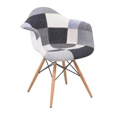 tub fabric accent chair patchwork herman miller rolling office 50 most popular armchairs and chairs for 2019 houzz leisuremod willow eiffel