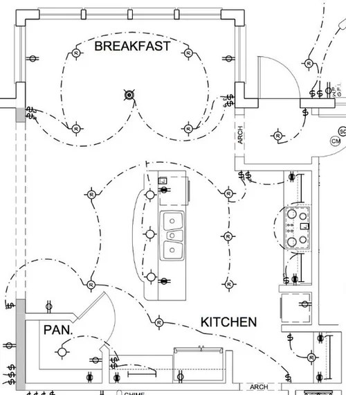 Kitchen Electrical Plan Uk. kitchen wiring plans diynot