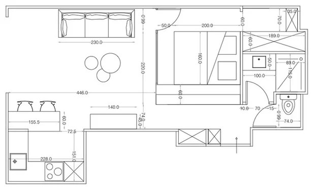 Houzz Tour: Studio Morphs Into a 1-Bedroom Apartment