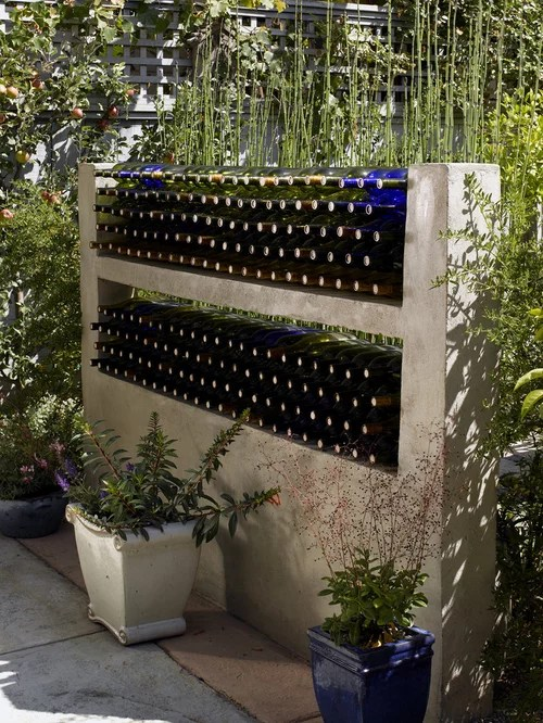 Bottle Wall Ideas Pictures Remodel and Decor