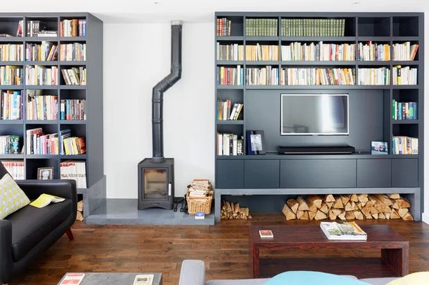 shelves living room sideboards furniture 12 clever ideas for shelving contemporary by granit architects