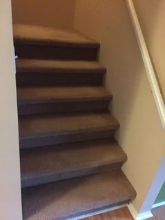 Redo Carpet Or Install Stair Treads For Stairs | Unfinished Pine Stair Tread | Wood | Stair Parts | Red Oak Stair | Stair Railing | Basement Stairs