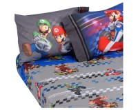 Mario Bedding and Room Decorations