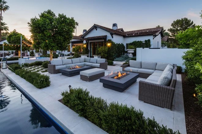 Farmhouse Patio by Integrated Design, llc