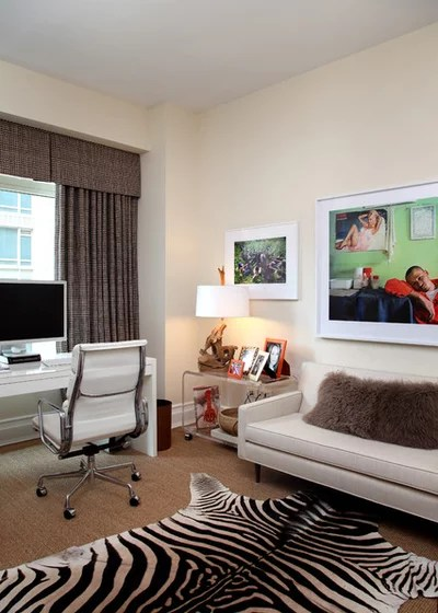 sofa back pillows duncan phyfe value 9 tips to combine a home office and tv den