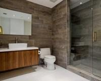 Wood Tiles Bathroom | Houzz